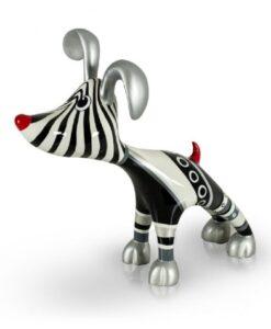 Niloc Pagen Stretching Dog Billie - Klein Arteaux Art & Design kunsthars