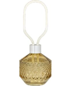 Lampe Berger Parfumverspreider Matali Crasset amber transparant lont geurbrander huisparfum eternal sap navulling geurstokjes bouquet amber
