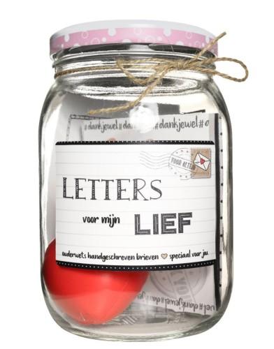 kletspot letters voor mijn lief valentijn romantiek