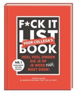 F_ck it list book voor collega's