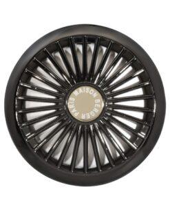 Lampe Berger Auto Car Diffuser - Wheel Gun Metal closeup