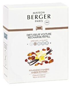 Lampe Berger Auto Diffuser - Amber Powder Navulling