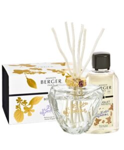 Lampe Berger Geurstokjes Parfumverspreider Lolita Lempicka Premium Transparant doos verpakking navulling huisparfum