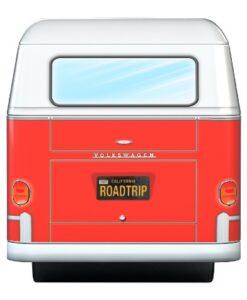 Volkswagen Puzzel Tin Box 550 stukjes blik vw eurographics road trips achterkant