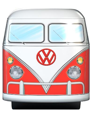 Volkswagen Puzzel Tin Box 550 stukjes blik vw eurographics road trips voorkant