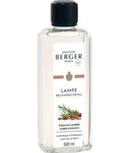 maison lampe berger amber elegance huisparfum navulling brander 500ml