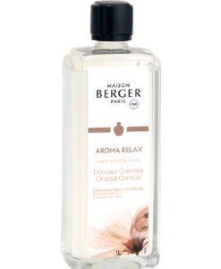 maison lampe berger aroma relax oriental comfort 1 liter navulling huisparfum brander