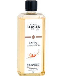 maison lampe berger exquisite sparkle navulling 1 liter huisparfum brander