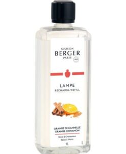 maison lampe berger orange cinnamon 1 liter navulling huisparfum brander