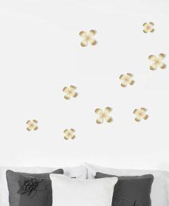 Umbra Metal Wallflower Wall Decor - Set Van 9 sfeerbeeld