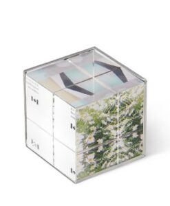 Umbra Ice - Picture Frame Kubus productfoto 3d