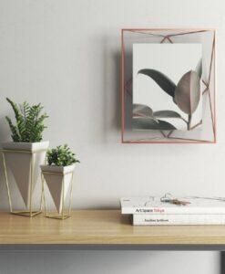 Umbra Prisma Groot 20x25 - Koper photo frame display fotolijst sfeerfoto muur