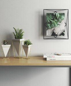 Umbra Prisma Groot 20x25 - Zwart photo display fotolijst sfeerbeeld muur