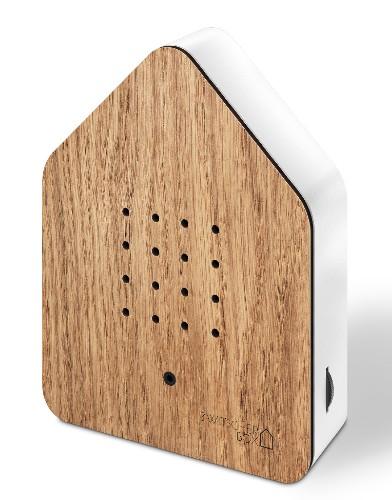 Zwitscherbox – Het Kwetterende Vogelhuisje – Oak eikenhouten birdbox