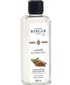 Lampe Berger Navulling - Festive Cinnamon 500ml cannelle de noel brander huisparfum