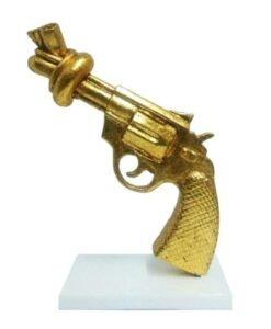 Mia Coppola Peace gun Goud arteaux art and design AR-TR16785 B