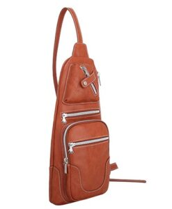 Noi-Noi 2020 Najaarscollectie - Rosella Schoudertas_Cross-Body Bag 3 Variaties cognac