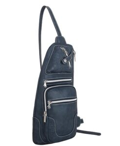 Noi-Noi 2020 Najaarscollectie - Rosella Schoudertas_Cross-Body Bag 3 Variaties dark blue